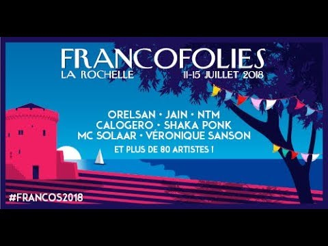 Francofolies 2018