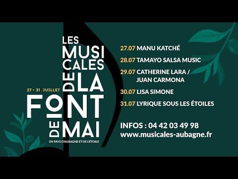 Les Musicales de la Font de Mai 2018