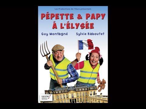 Pépette & Papy à l'Élysée