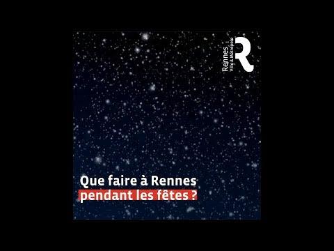 Marché de Noël Rennes 2018