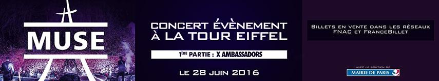 Muse � la Tour Eiffel