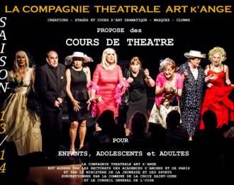 Compagnie Th��trale Art k'ange Lacroix saint Ouen