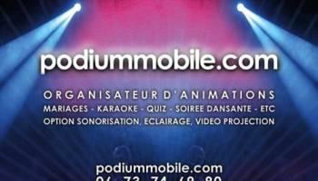 Podium mobile